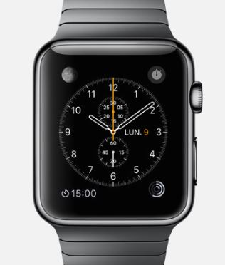 Apple Watch Horloge watch face 1