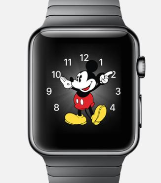 Apple Watch Horloge watch face Mickey 1