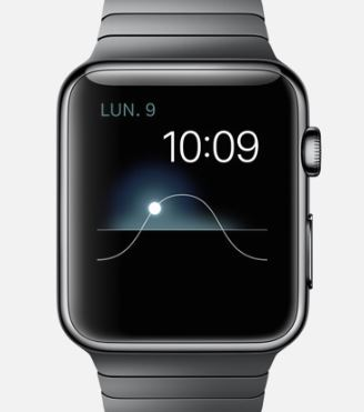 Apple Watch Horloge watch face oscillogramme 1