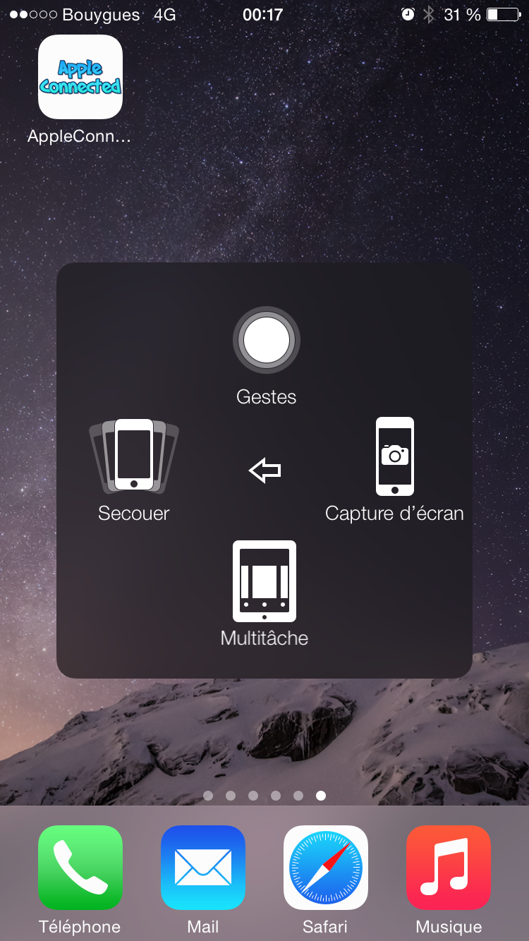 Comment faire une capture d 39 cran de votre iphone avec un for Capture 2cran