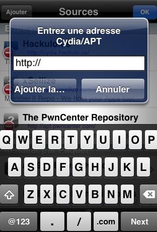 Cydia ajout source 2