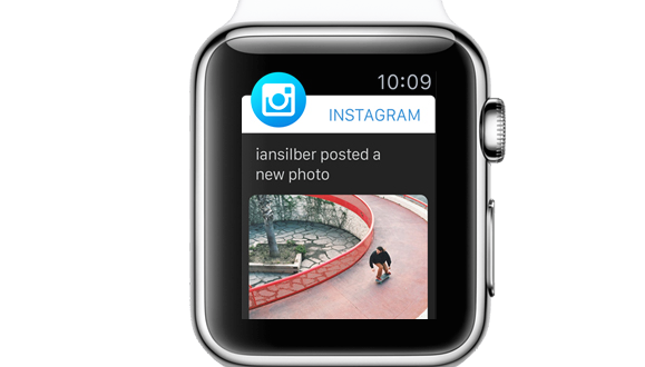 Instagram Apple Watch image1