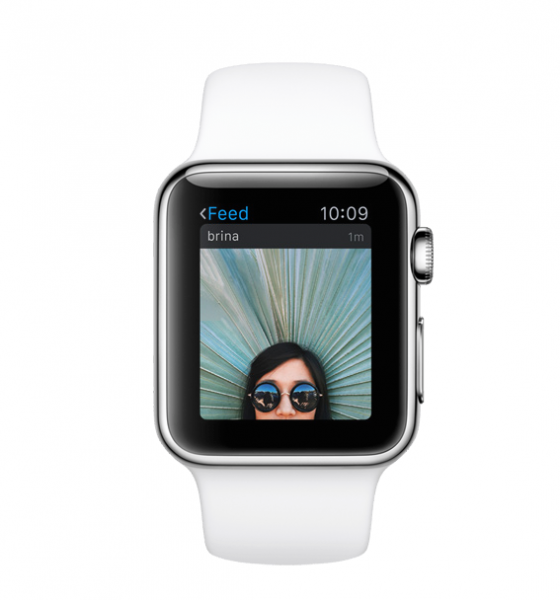 Instagram Apple Watch image2