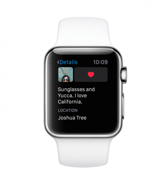 Instagram Apple Watch image3
