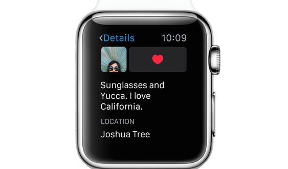 Instagram Apple Watch image3