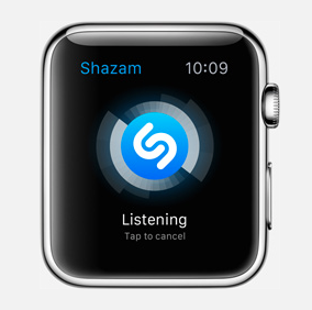 Shazam Apple Watch image1