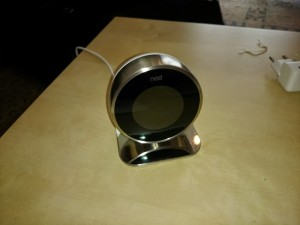 Socle Nest thermostat 3