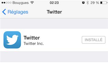Twitter reglages image