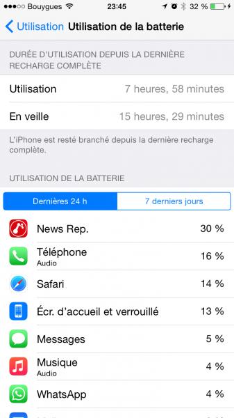 Utilisation batterie image 3