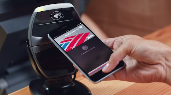 Apple Pay iPhone 6 Plus image