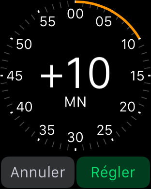 Apple Watch Tuto heure 1