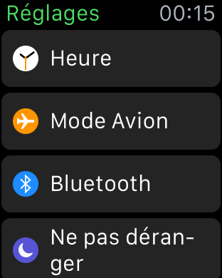 Apple Watch Tuto heure 2
