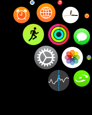 Apple Watch Tuto heure 3