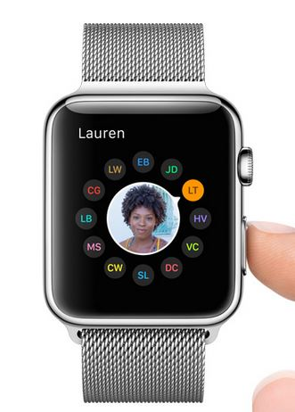 Apple Watch friends image1