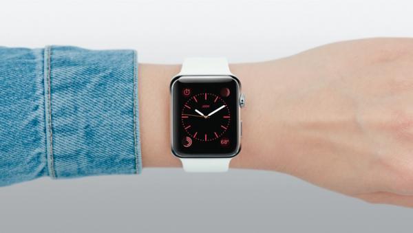 Apple watch appli home horloge rouge