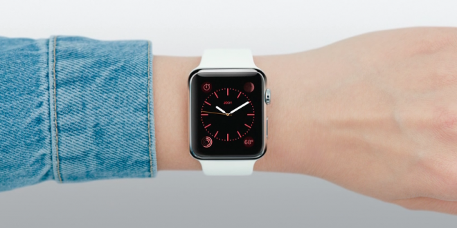 Apple watch appli home horloge rouge