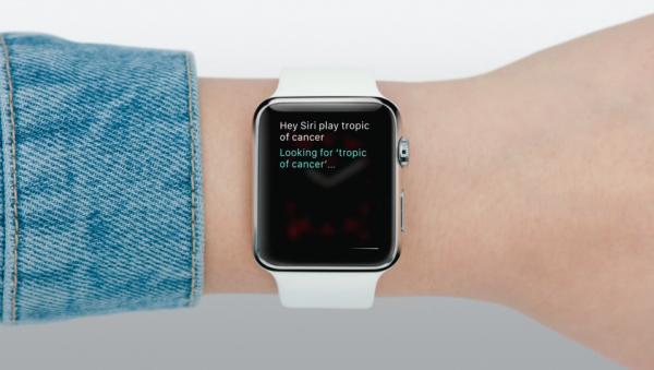 Apple watch appli music siri 1