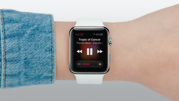 Apple watch appli music siri 2