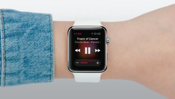 Apple watch appli music siri 2