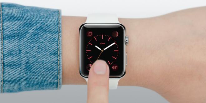 Apple watch home horloge screen 1