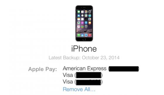 ApplePay iCloud image