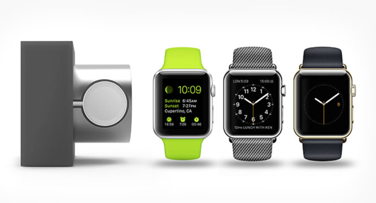 Apple watch dock support de recharge pour apple watch appleconnected - Supports magazines simples fois tres design ...