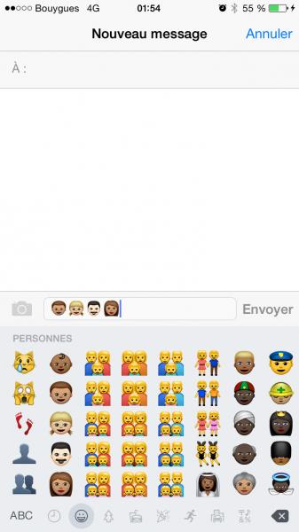 Emojis iOS 8.3 image2