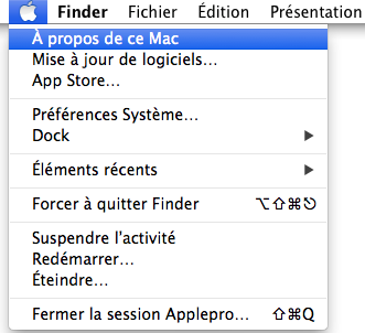 Mac A propos Mac image 1