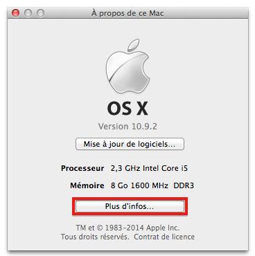 Mac A propos Mac image 2