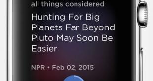 NPR One Apple Watch app