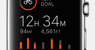Strava application Apple Watch