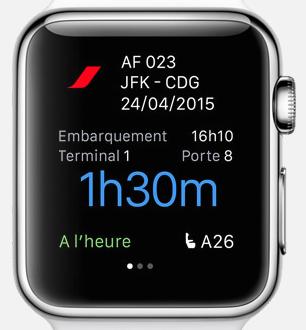 air france apple watch 1