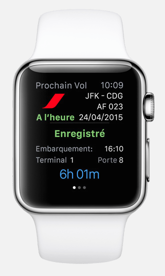 air france apple watch 2