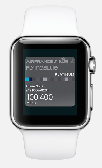 air france apple watch 3