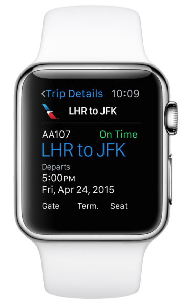american airlines apple watch app1
