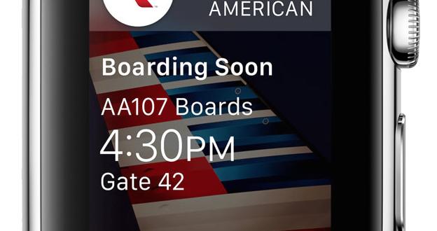 american airlines apple watch app3