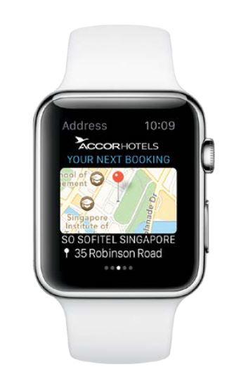 apple watch accor hotels im3
