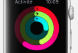 apple watch activité image home