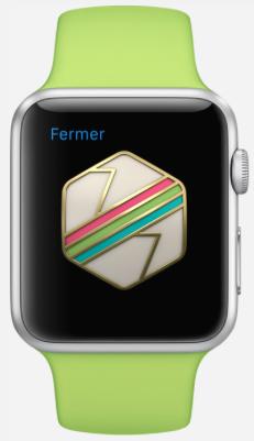 apple watch activité objectif reussi