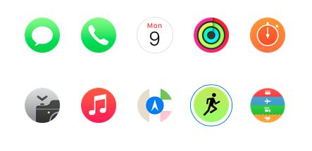 apple watch appli intégré image 1
