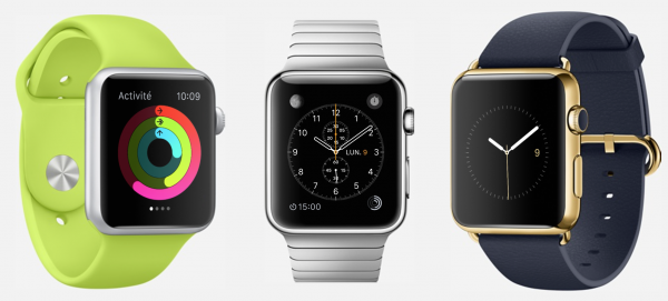 apple watch precommande