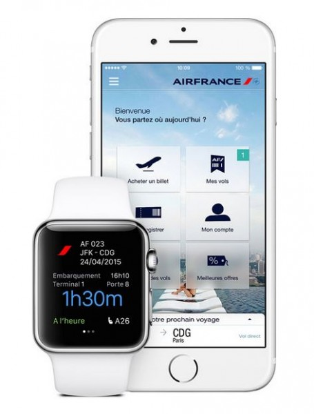 applew watch iphone air france app1