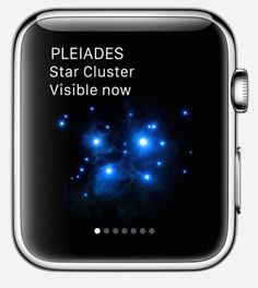 applewatch appli sky guide