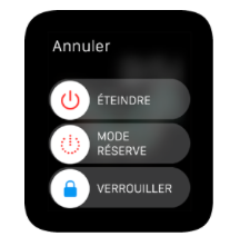 applewatch mode reserve