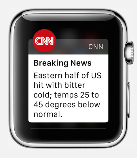 cnn application apple watch