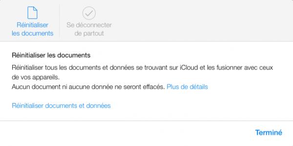 iCloud réglages iCloud image3