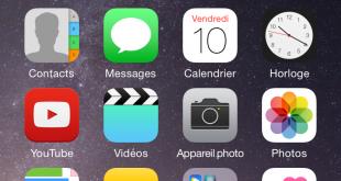 iOS 8 double tap