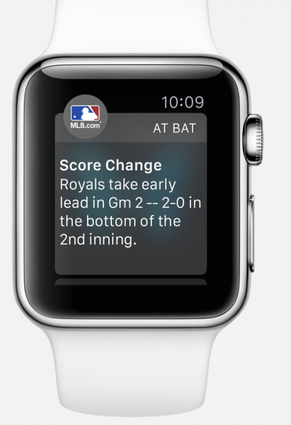 mlb app apple watch2