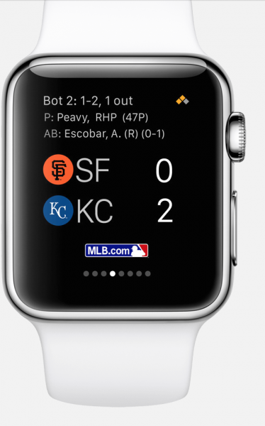 mlb app apple watch4