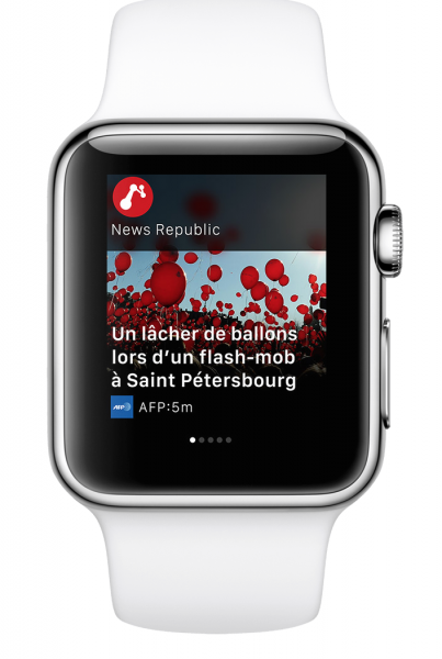 news republic apple watch 4